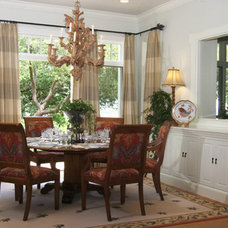 Traditional Dining Room by CDA Interior Design