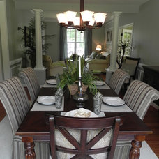 Traditional Dining Room by Paisley Pear Interiors