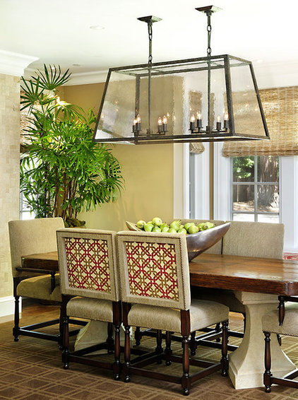 Eclectic Dining Room by SDG Architecture, Inc.