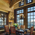 Rustic Family Room Rustic Family Room Minneapolis