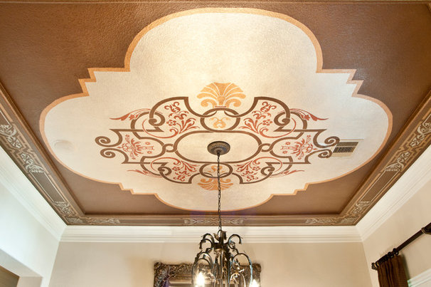 Traditional Dining Room by Decorative & Faux Finishes