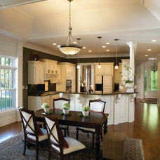 Traditional Dining Room by Jagoe Homes Inc