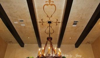 Ceiling-Metallic Texture