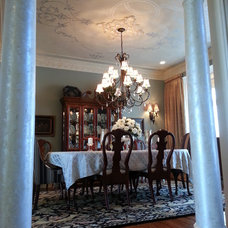 Traditional Dining Room by Elegant Finishes by Gina