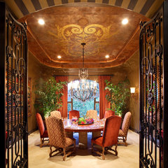 traditional dining room by Celadon Studio and Fine Art