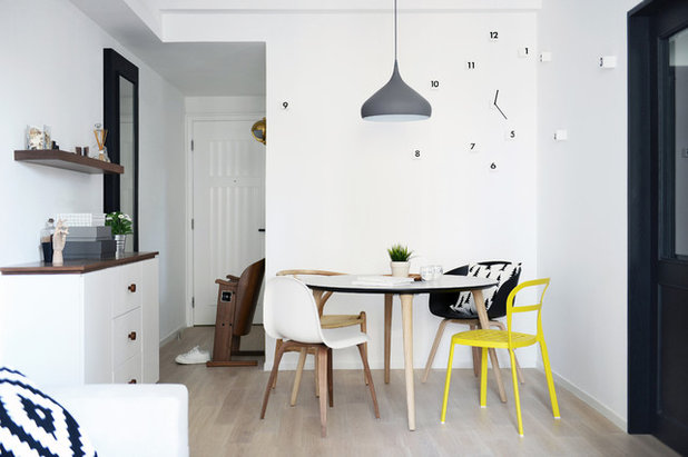 Éclectique Salle à Manger by hoo Interior Design & Styling