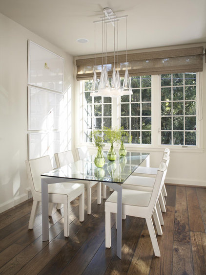 Traditional Dining Room by Michael Abraham Architecture