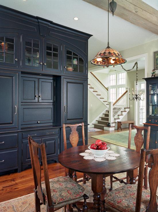 Navy Blue Dining Room Design Ideas Remodels Photos