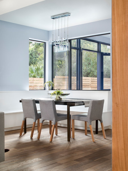 Contemporary dining room design ideas remodels photos for Contemporary dining room