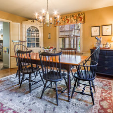 Traditional Dining Room by Canton Custom Homes