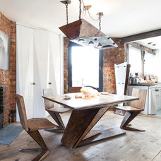 Industrial Dining Room by Nathalie Priem Photography