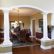 Traditional Dining Room by Fine Designs & Interiors, Ltd.
