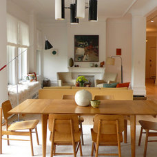 Contemporary Dining Room by 2Michaels