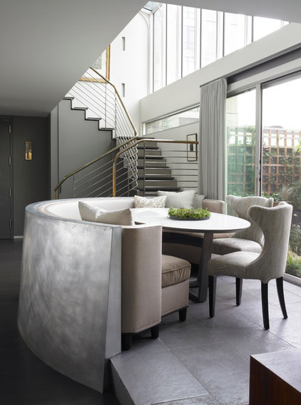 Contemporary Dining Room by Foley Fiore Architecture