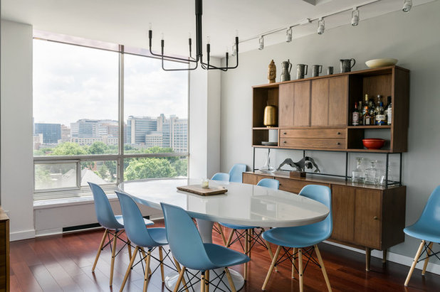 Contemporary Dining Room by Karen Palmer Photography