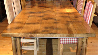 Centrally Extending Cottage Refectory Table