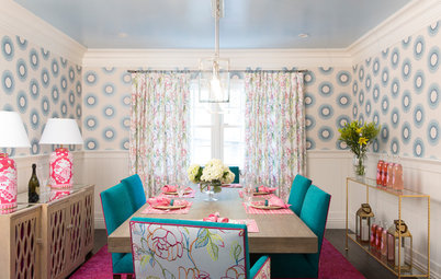 Houzz Tour: Rainbow of Colors Reigns Supreme in Century City