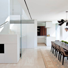 Contemporary Dining Room by Domb architects