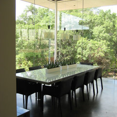 modern dining room by Cottam Hargrave