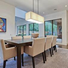 Contemporary Dining Room by Greico Designers/Builders Dallas