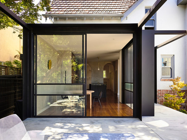 Contemporary Dining Room by Luke Fry Architecture & Interior Design