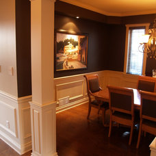 Traditional Dining Room by House of Fine Carpentry