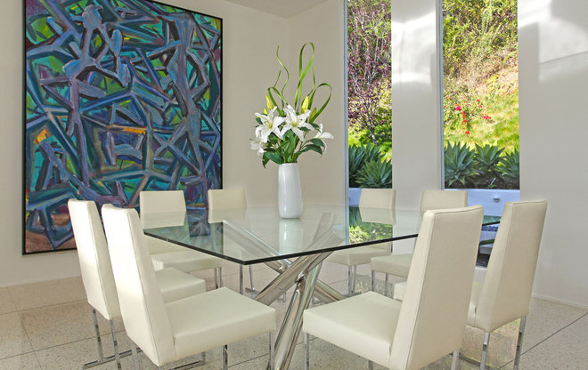 Midcentury Dining Room by Bowery Interior Architecture