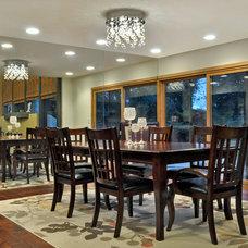 Traditional Dining Room by Maxim Lighting International