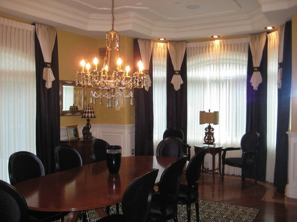 Traditional Dining Room by Trade Mart Interiors