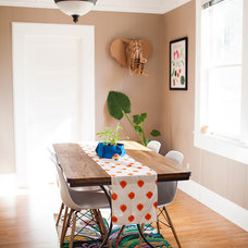 Eclectic Dining Room by Jennifer Young
