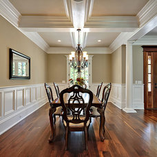 Traditional Dining Room by creative designs llc
