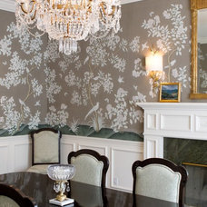 Traditional Dining Room by Charmean Neithart Interiors, LLC.