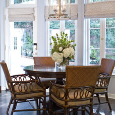 Traditional Dining Room by Erika Bierman Photography