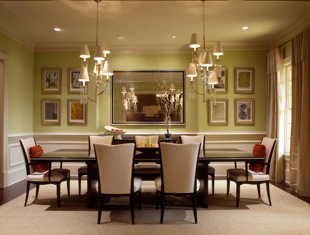 Eclectic Dining Room By Dillard Pierce Design Associates