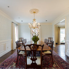 Traditional Dining Room by Abbey Construction Company, Inc.