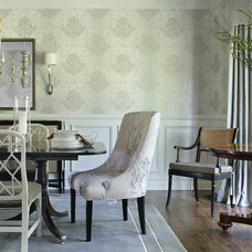 Traditional Dining Room by Valerie Grant Interiors
