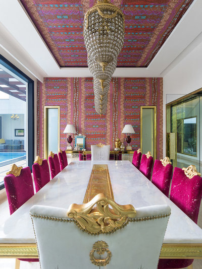 Eclectic Dining Room by Altus - Luxury Living