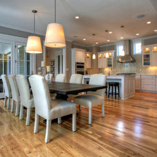 Traditional Dining Room by Burrus Architecture & Construction, LLC