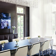 Contemporary Dining Room by Joel Kelly Design
