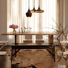 Modern Dining Room by Lucy Harris Studio