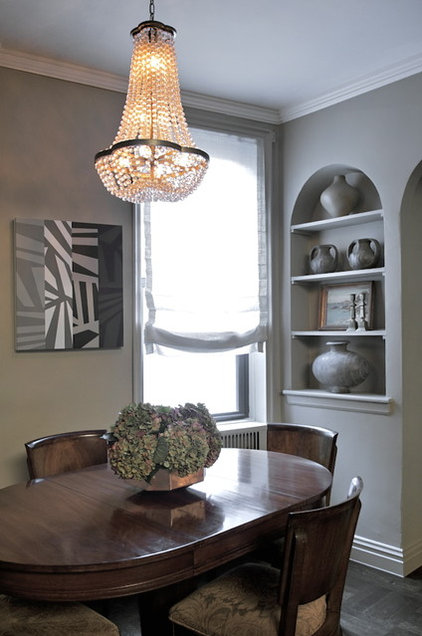 eclectic dining room by Shagreene