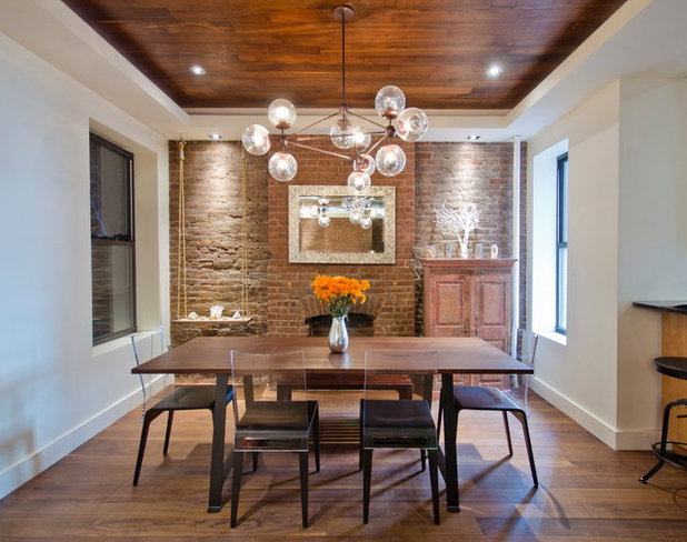 Modern Lighting Gives Traditional Homes a Twist