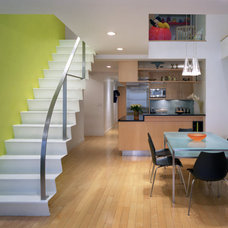 Contemporary Staircase by Chelsea Atelier Architect, PC