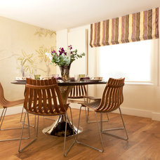 Transitional Dining Room by Helene Dabrowski Interiors