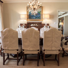 Traditional Dining Room by Jane Goss Designs, LLC