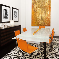 modern dining room by Diego Alejandro Design
