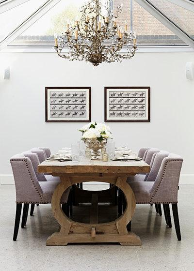 Transitional Dining Room Chelsea Park Gardens | London | SW3