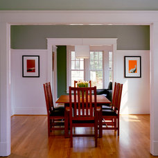 Traditional Dining Room by Moore Architects, PC