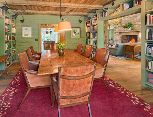 Rustic Dining Room by Platt Architecture, PA