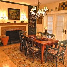 Traditional Dining Room by Jonathan R. Diamond Interiors